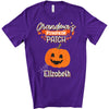 Personalized Grandma's Pumpkin Patch Halloween T-Shirt