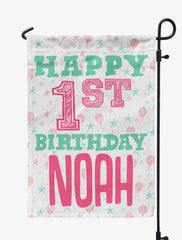 Personalized Birthday Flag