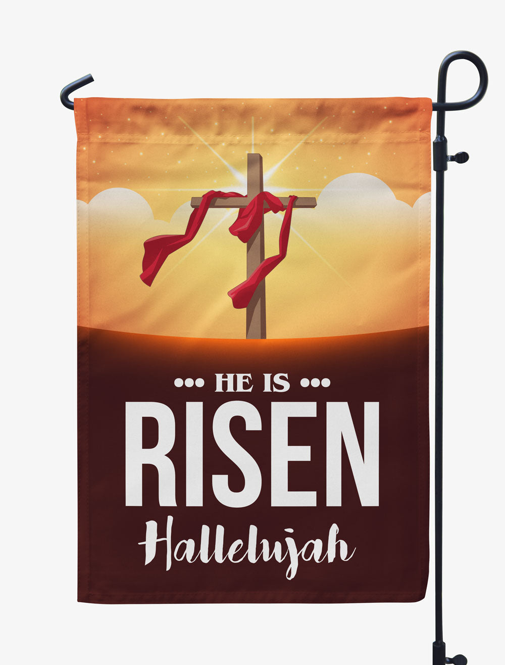 He Is Risen Flag