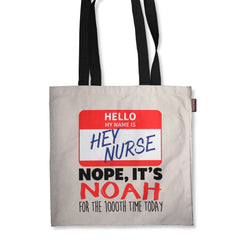 Personalized Hey Nurse Tote Bag - 18