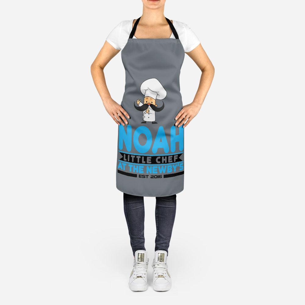 Personalized Little Chef Apron