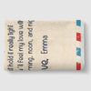 Air Mail Letter Grandma We Hugged This Fleece Blanket with Customized Names; Soft and Silky-Smooth Mink Front; Premium Sherpa Back Side, Vibrant Full Color Print