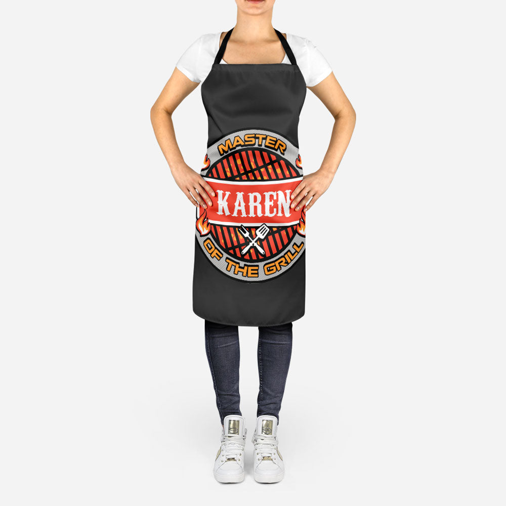 Personalized Master of the Grill Apron