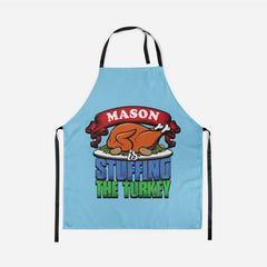 Personalized Stuffing The Turkey Apron
