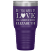 Personalized All You Need is Love and Grandkids Laser Etched 30oz Tumbler