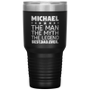 Personalized Dad-Man-Myth-Legend Laser Etched 30oz Tumbler