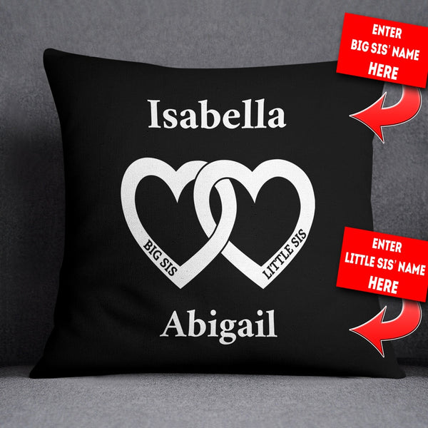 Personalized Butterfly Heart Throw Pillow Cover : Personalized Mr & Mrs - German Throw Pillow Cover - 18