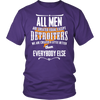Detroiter's Created Equal Men T-Shirts