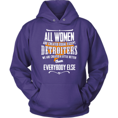 Detroiter's Created Equal Women T-Shirts