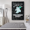 Feelin' The Halloween Spirit Canvas