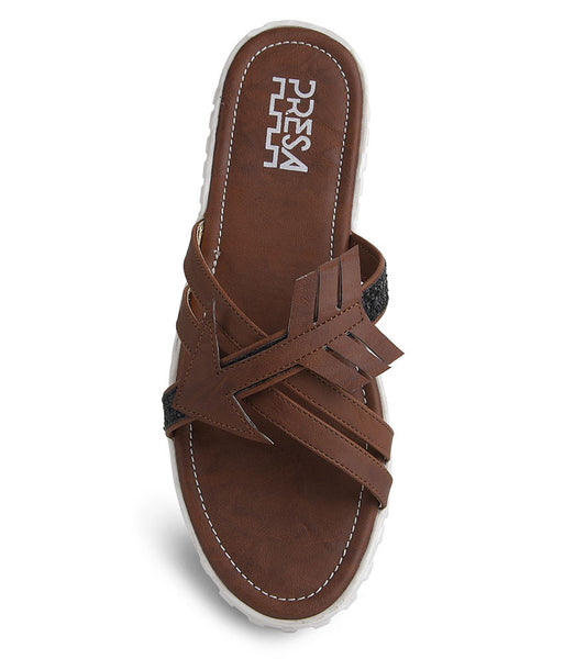 ARROWHEADS - DARK BROWN FOOTWEAR - Presa