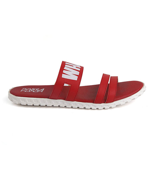 WHATEVER RED FOOTWEAR - Presa