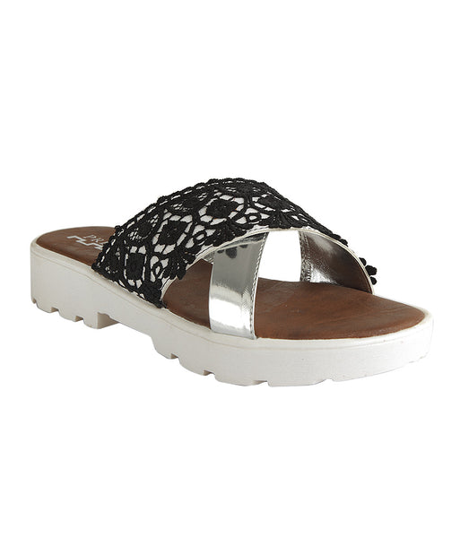 LACE SLIDERS - Presa
