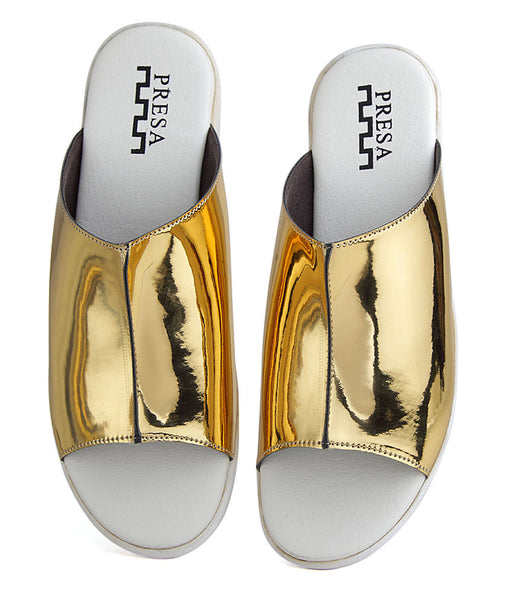 SUPER GOLD SLIP ONS - Presa