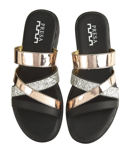 SHIMMER CROSSOVERS FOOTWEAR - Presa
