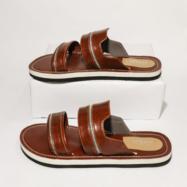 Brown Zipper Sliders - Presa