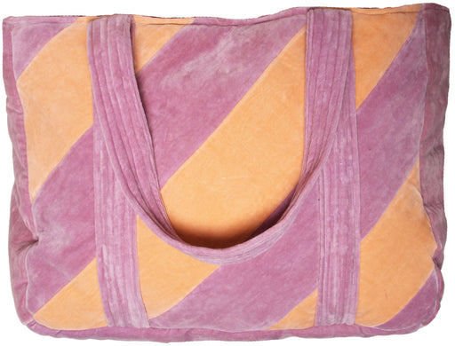 NOVA XL TOTEBAG pastel purple/orange