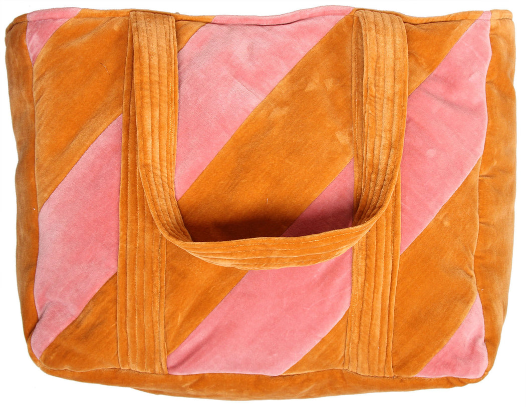 NOVA XL TOTEBAG pink/burned orange