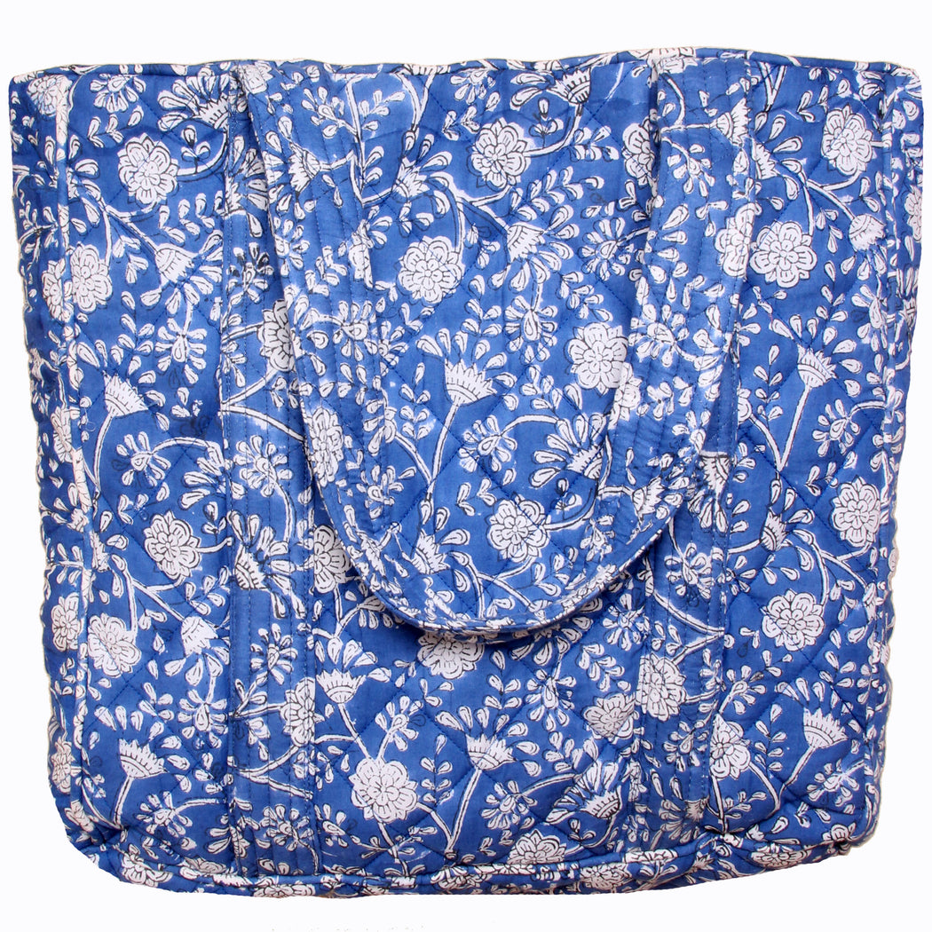 Smilla Medium Totebag Blue