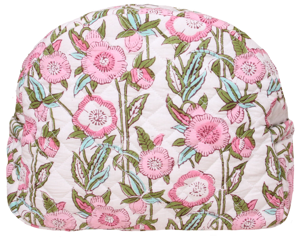 Smilla Washbag Pink Flower