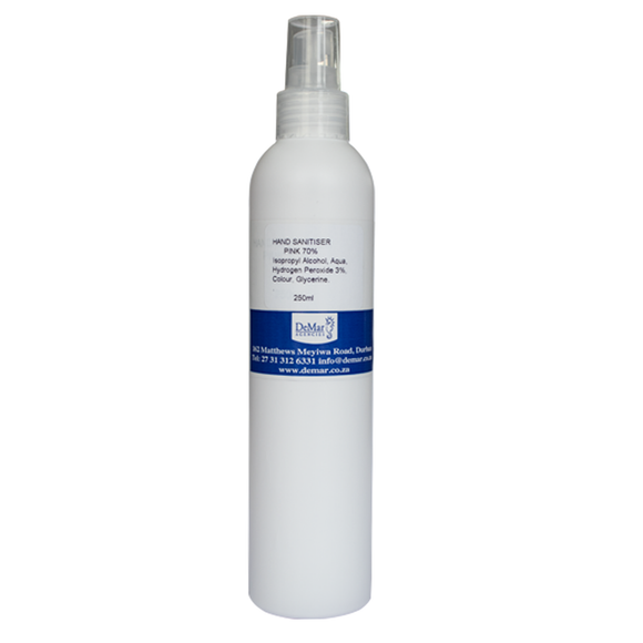 Hand Sanitiser Spray 250ml