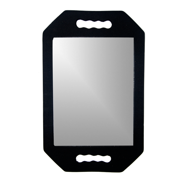 Black Foam Mirror