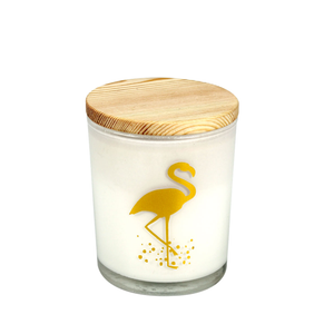 Flamingo Fragranced Candle (Flamingo)