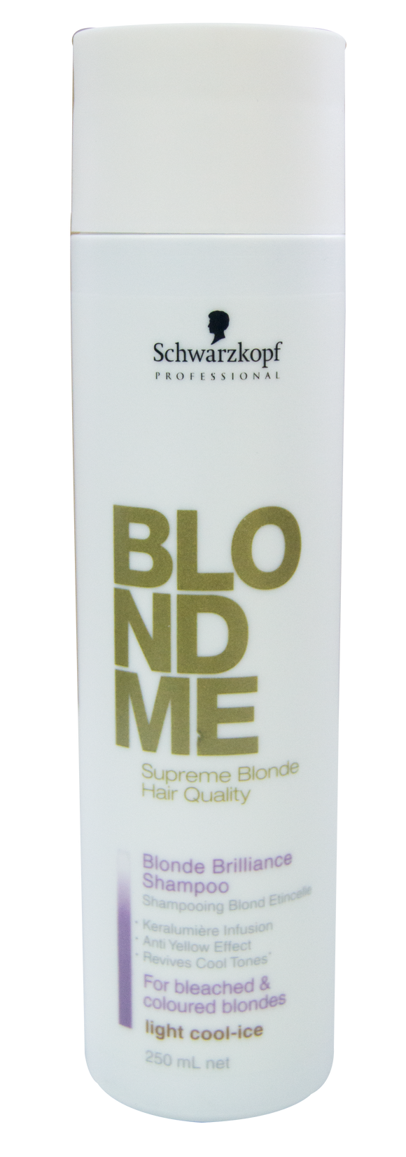 Schwarzkopf Blondme Warm-Caramel Blonde Brilliance Shampoo