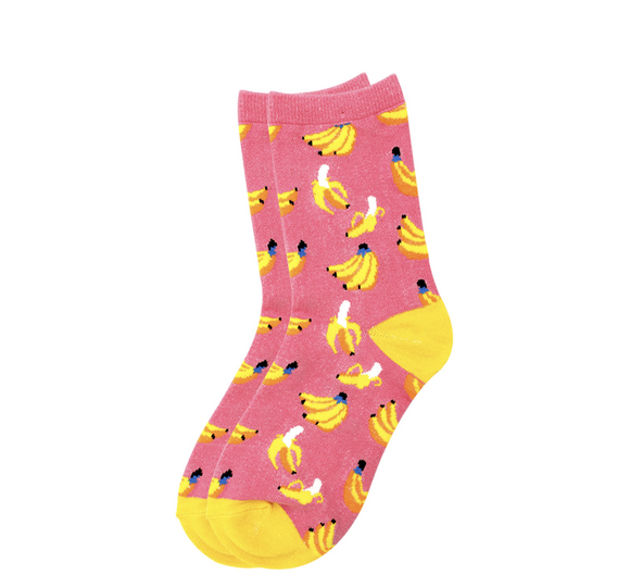 Banana Design Socks