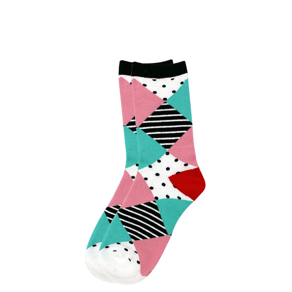 Fun Multi Coloured Socks