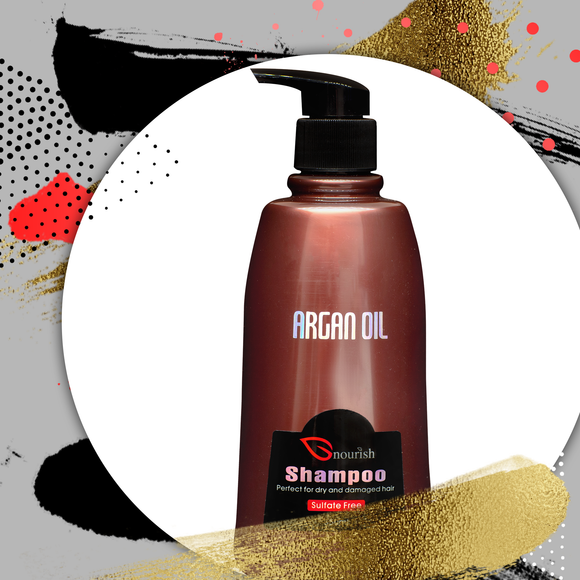 Nourish Argan Oil Shampoo