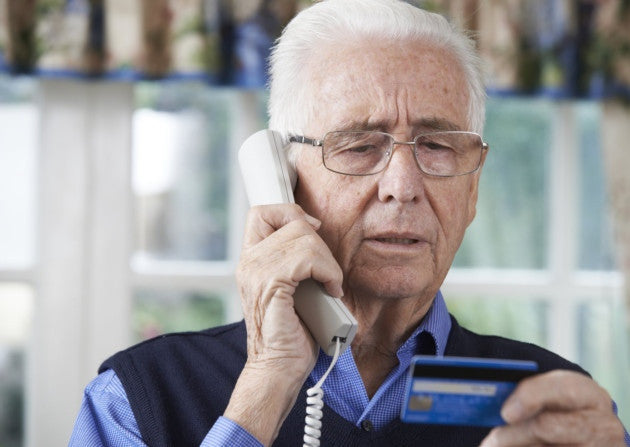 Elderly Targeted in Phone Scam