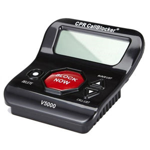 red button cpr call blocker v5000