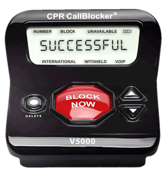 CPR Call Blocker successful