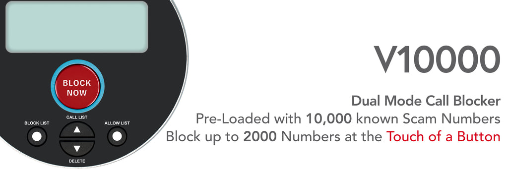 CPR Call Blocker Preloaded with 10000 numbers