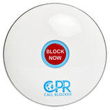 CPR Call Blocker Shield - Gloss White - Front