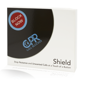 Shield - packaging - Preloaded with 2000 of the worst offending nuisance callers - block an additional 1500 numbers at any time using the BLOCK NOW button or typing # then 2 on any DECT phone - the first of it's kind, freeze out cold calls - personalise your service using the programming codes provided