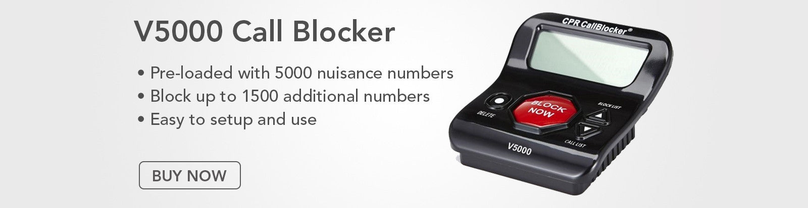 V5000 Call Blocker