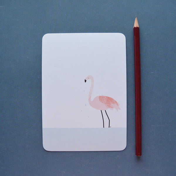 Carte postale flamingo My Lovely Thing