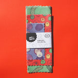 Beeswax Wraps: Variety Pack Set of 3 (Onion, Tomato, Cucumber)