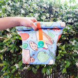 Lunch Bags, 100% Cotton, 3 colours available