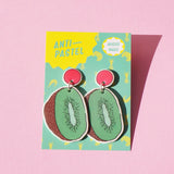 Earrings: Kiwifruit Drop Earrings