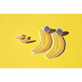 Earrings: Banana Stud Earrings