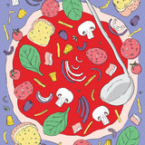 Art Print: Pizza Night