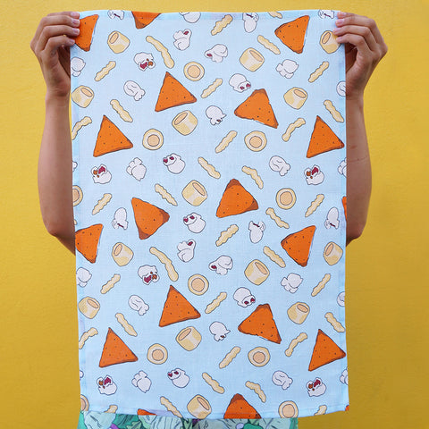 Tea Towel: Cheesy Bites