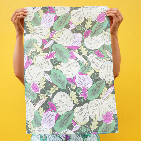 Tea Towel: Lettuce Jungle
