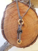 Trio Nuts Necklace