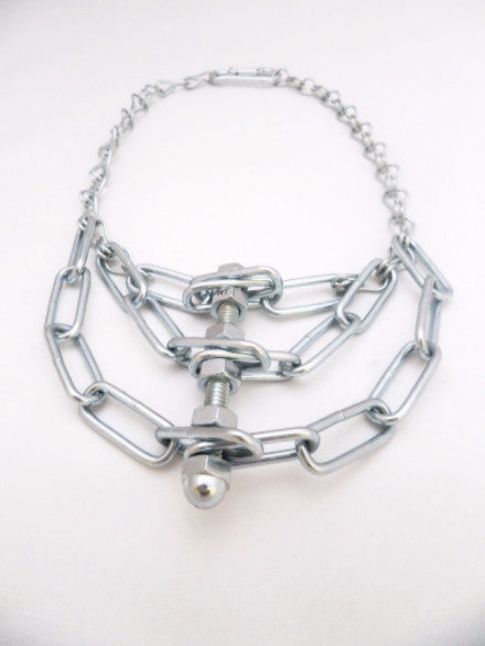 Spider Silver metal Necklace