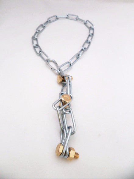 Silver-Gold Snake necklace