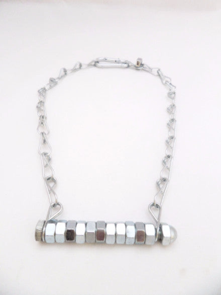 Nuts Line Necklace